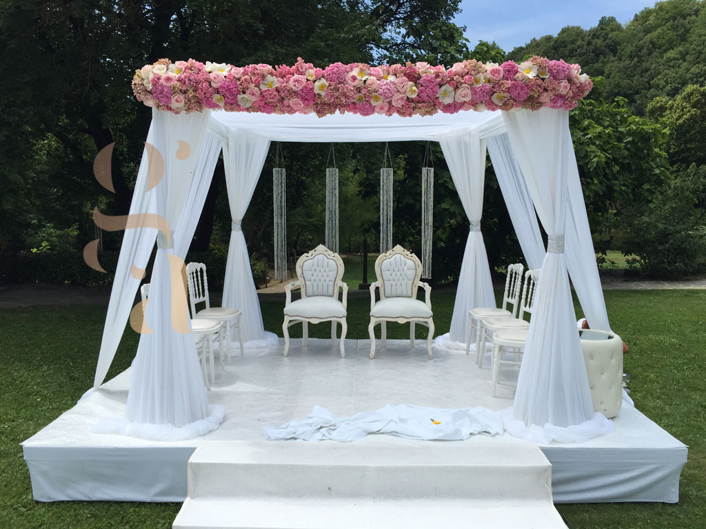 Houppa de mariage Cannes - Wedding planner