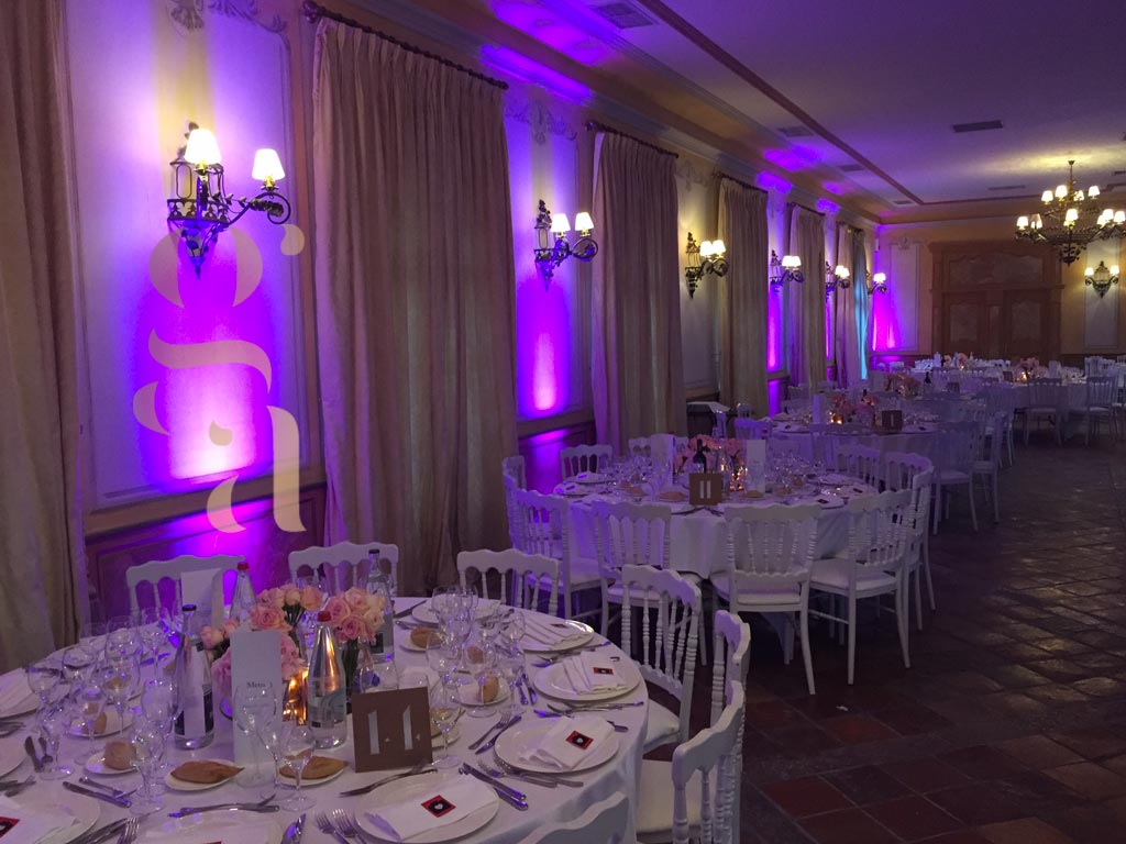 Décoration mariage, table - Côte d'Azur : Nice, Cannes, Monaco