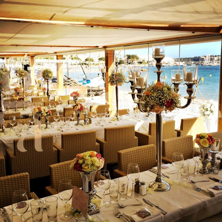 Wedding at l'Ecrin beach