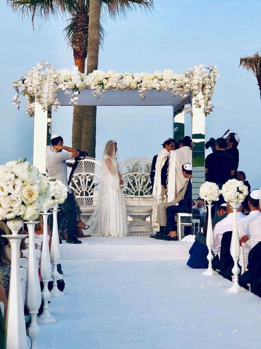 Décoration mariage Côte d'Azur